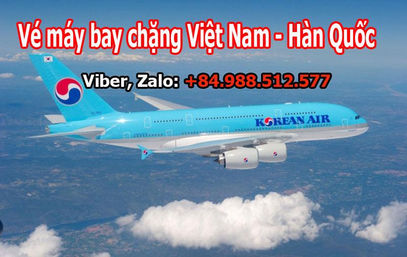 Bán Vé máy bay từ Hàn Quốc về Việt Nam của Korean Air