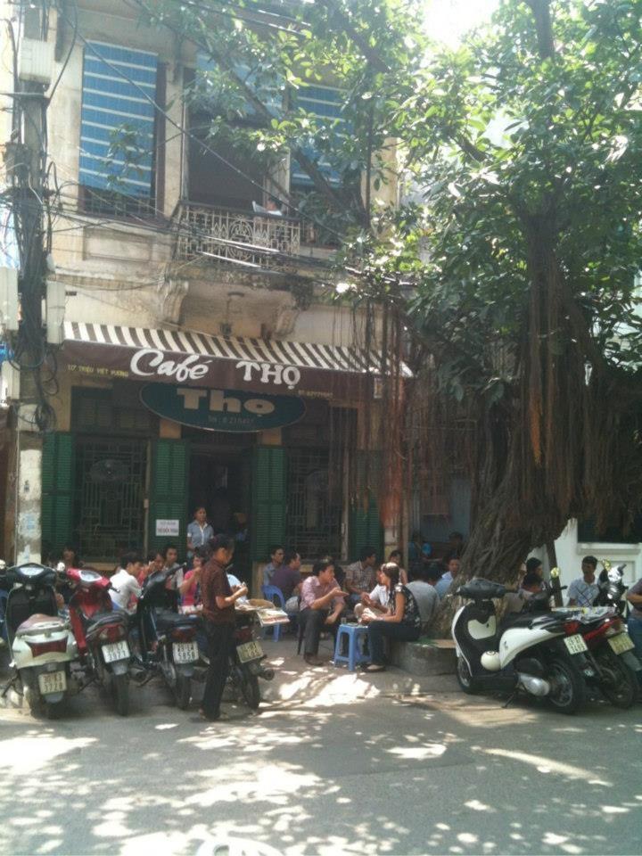 Quán cà phê Thọ Hà Nội