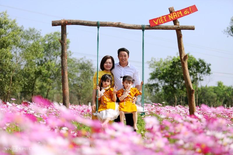 Cánh đồng hoa cánh bướm ở huyện Thạch Hà, Hà Tĩnh 2
