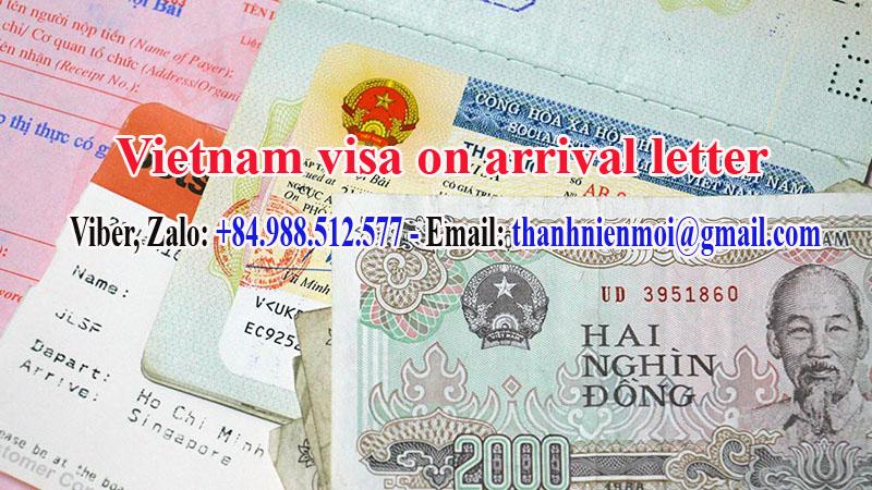 Dịch vụ làm công văn nhập cảnh Việt Nam cho người nước ngoài
