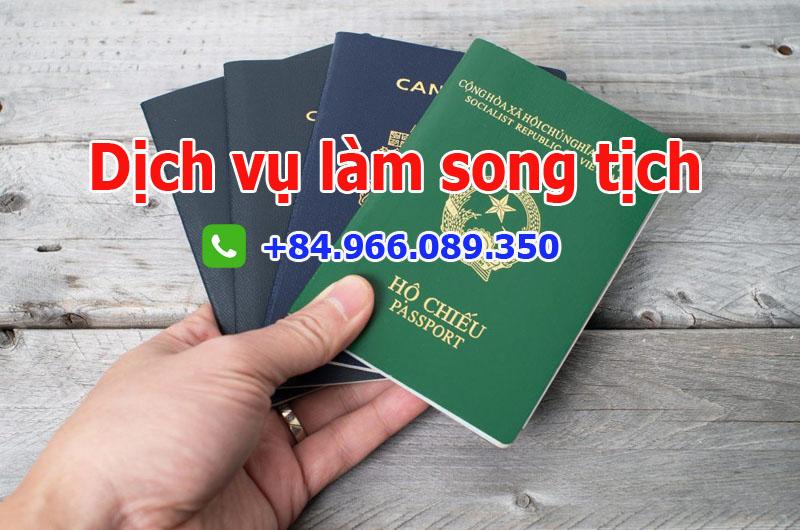 Dịch vụ làm song tịch cho Việt Kiều