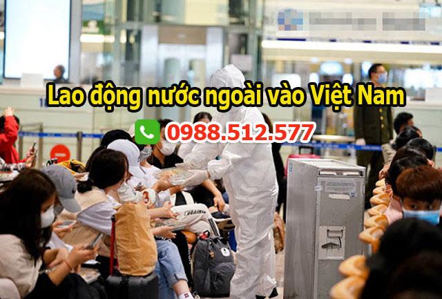 Dịch vụ làm visa cho người nước ngoài vào Việt Nam trong lúc Covid 19