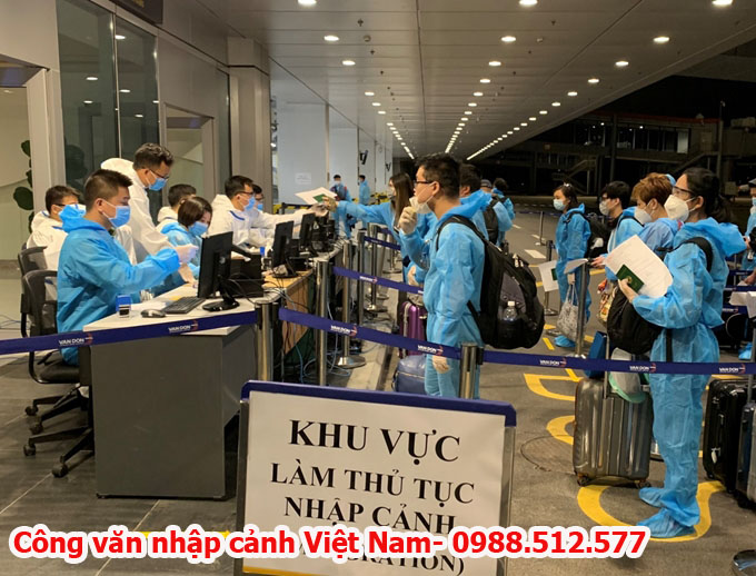 Hướng dẫn chuẩn bị hồ sơ xin công văn nhập cảnh Việt Nam cho chuyên gia