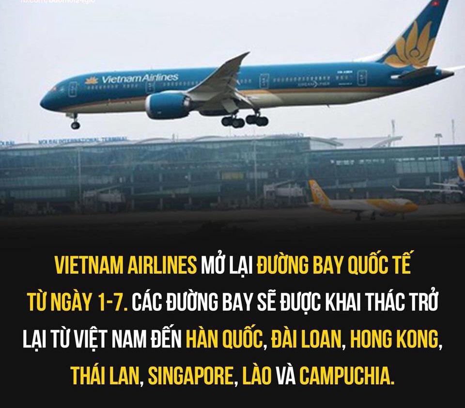 Khi nào Việt Nam mở lại đường bay thương mại quốc tế?