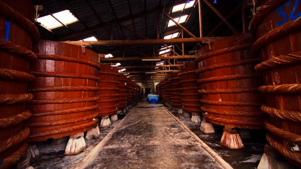 Nhà thùng xưởng nước mắm Phú Quốc