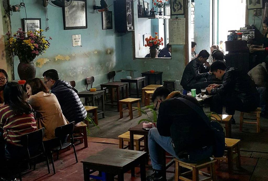 Quán cà phê Đinh Hà Nội