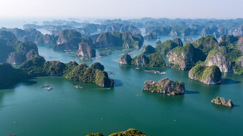 Cảnh đẹp ở Vịnh Lan Hạ