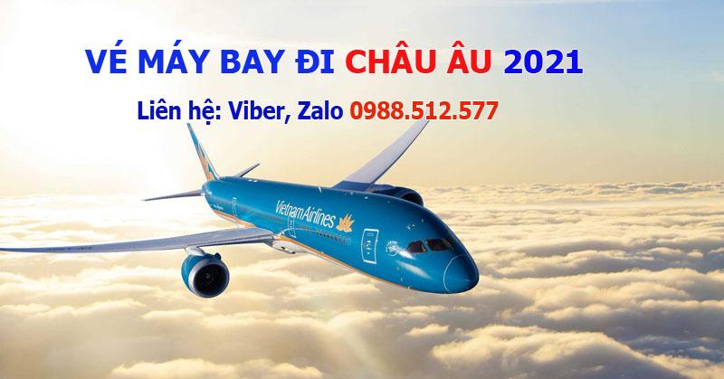 Vietnam Airlines mở bán vé máy bay đi Châu Âu từ tháng 4/2021