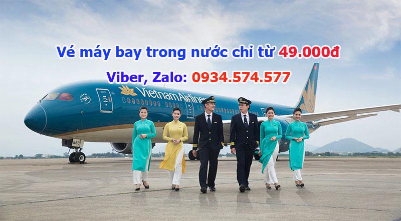 Liên doanh Vietnam Airlines – Pacific Airlines tung khuyến mãi bán vé máy b