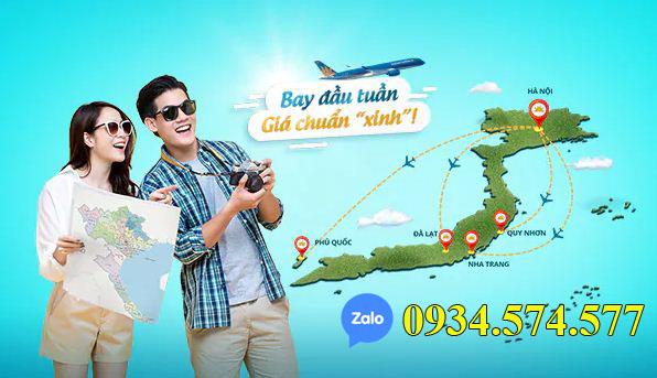 Vé máy bay trong nước Vietnam Airlines giá rẻ vào đầu tuần